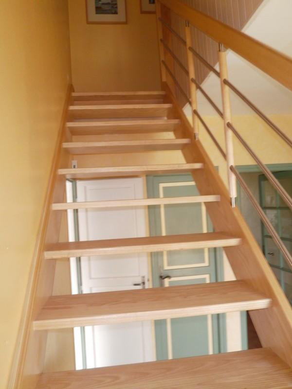 Pose d'escalier