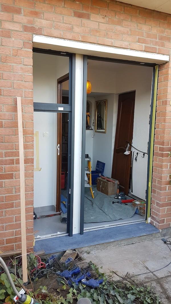 Porte d'entrée mixte 3